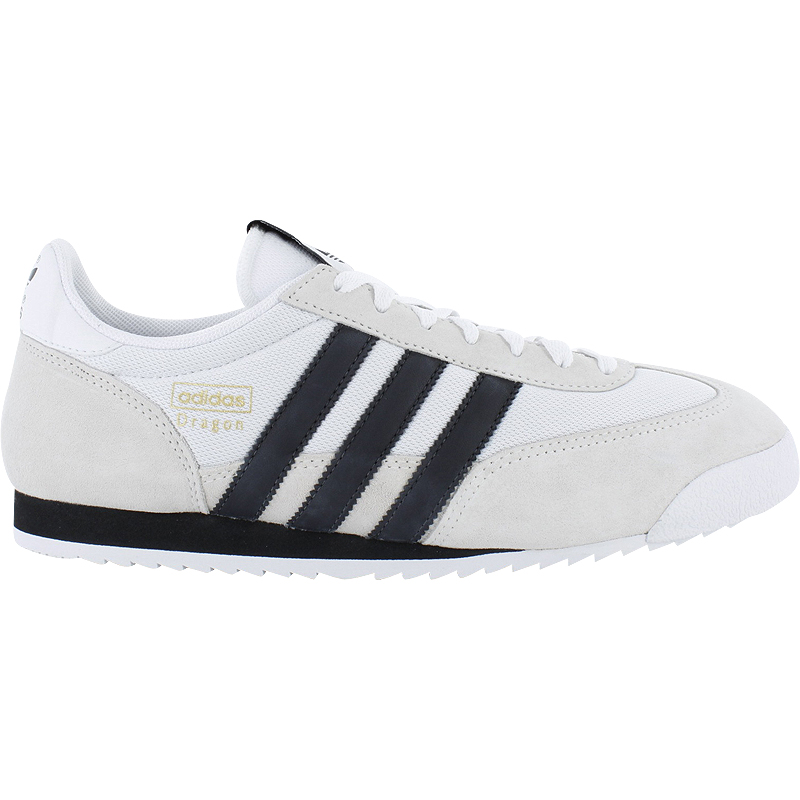 neu adidas dragon weiss leder herrenschuhe sneaker ebay. Black Bedroom Furniture Sets. Home Design Ideas