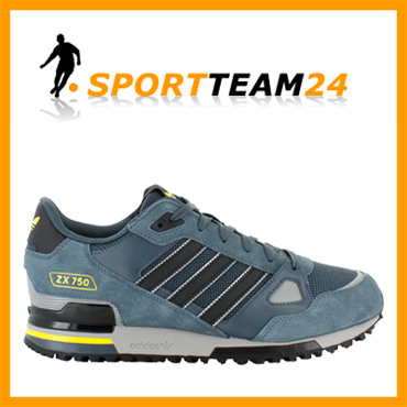 neu adidas zx 750 herren turnschuhe grau ebay. Black Bedroom Furniture Sets. Home Design Ideas