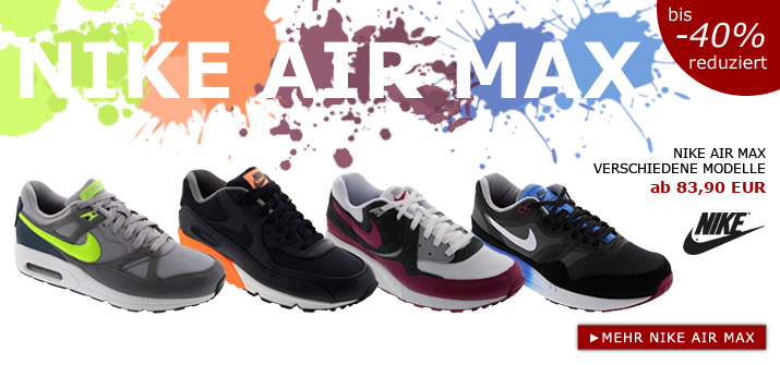 Nike Air Max bei SP24.com
