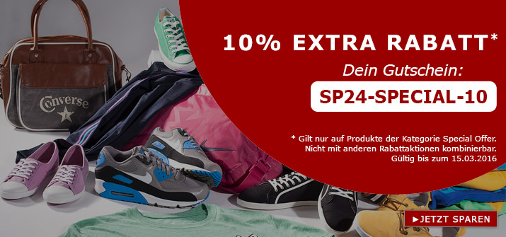 10% Special Offer bei SP24.com